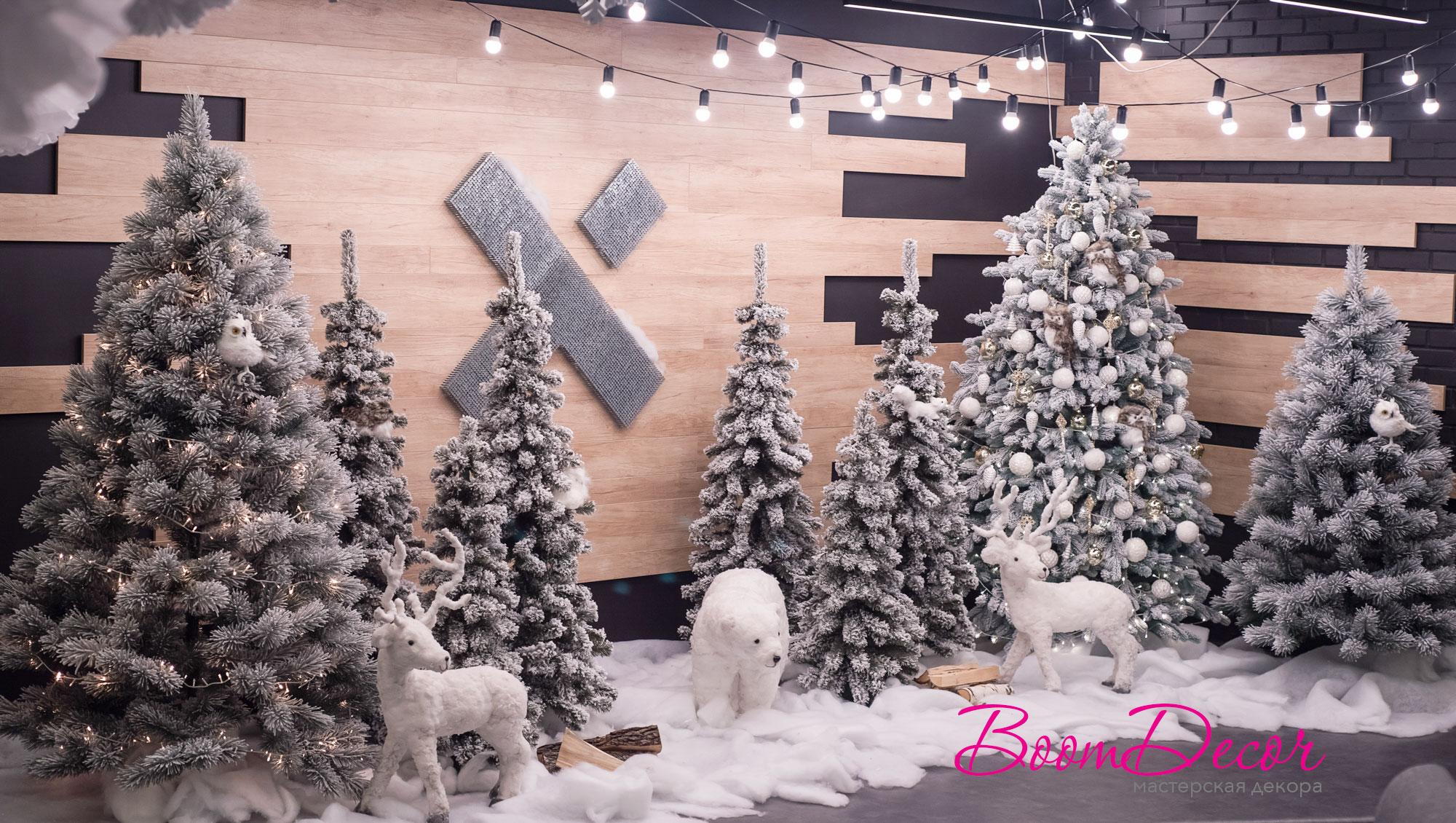 Новогоднее оформление 013