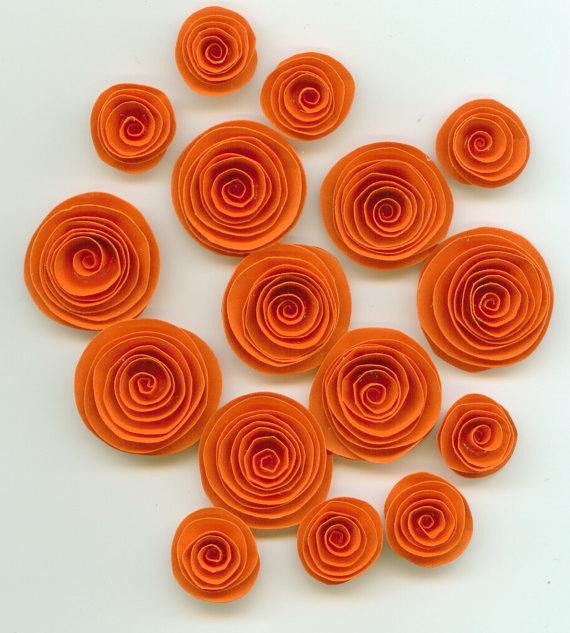 Спиральные цветы 025