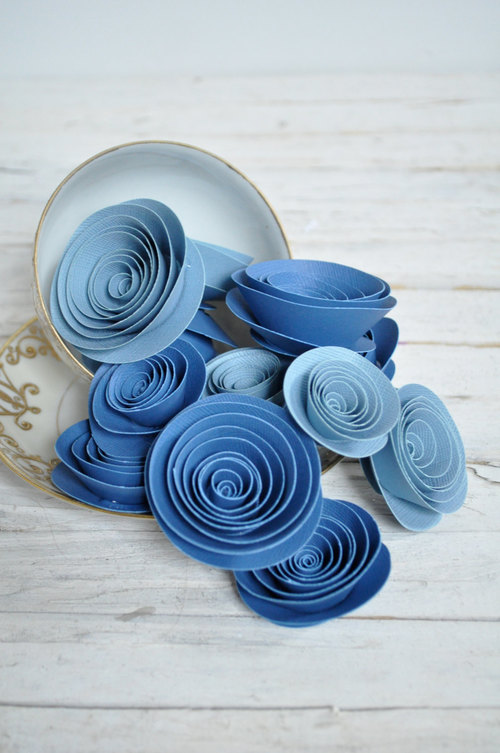 Спиральные цветы 031