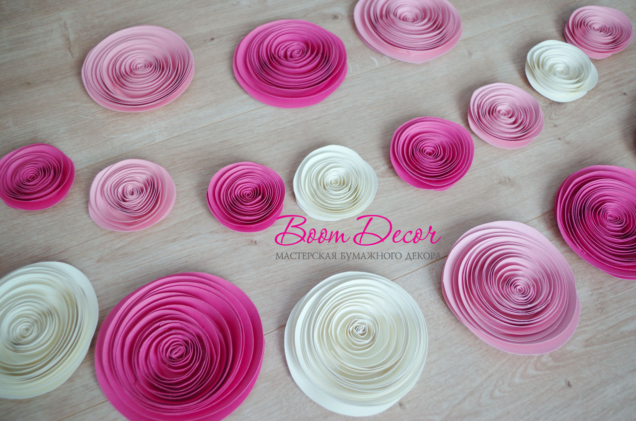 Спиральные цветы 050