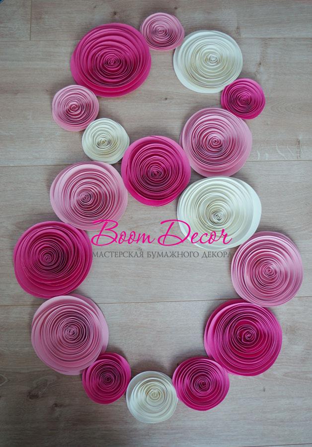 Спиральные цветы 051