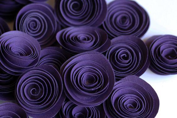 Спиральные цветы 034