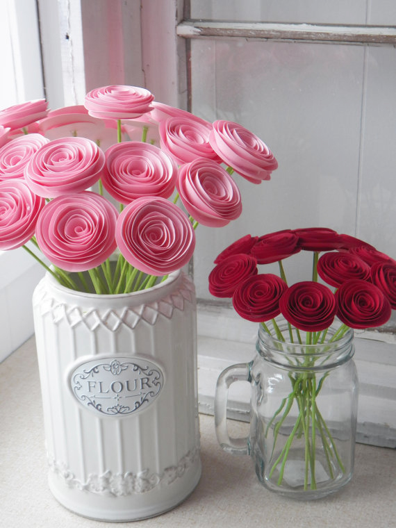 Спиральные цветы 001