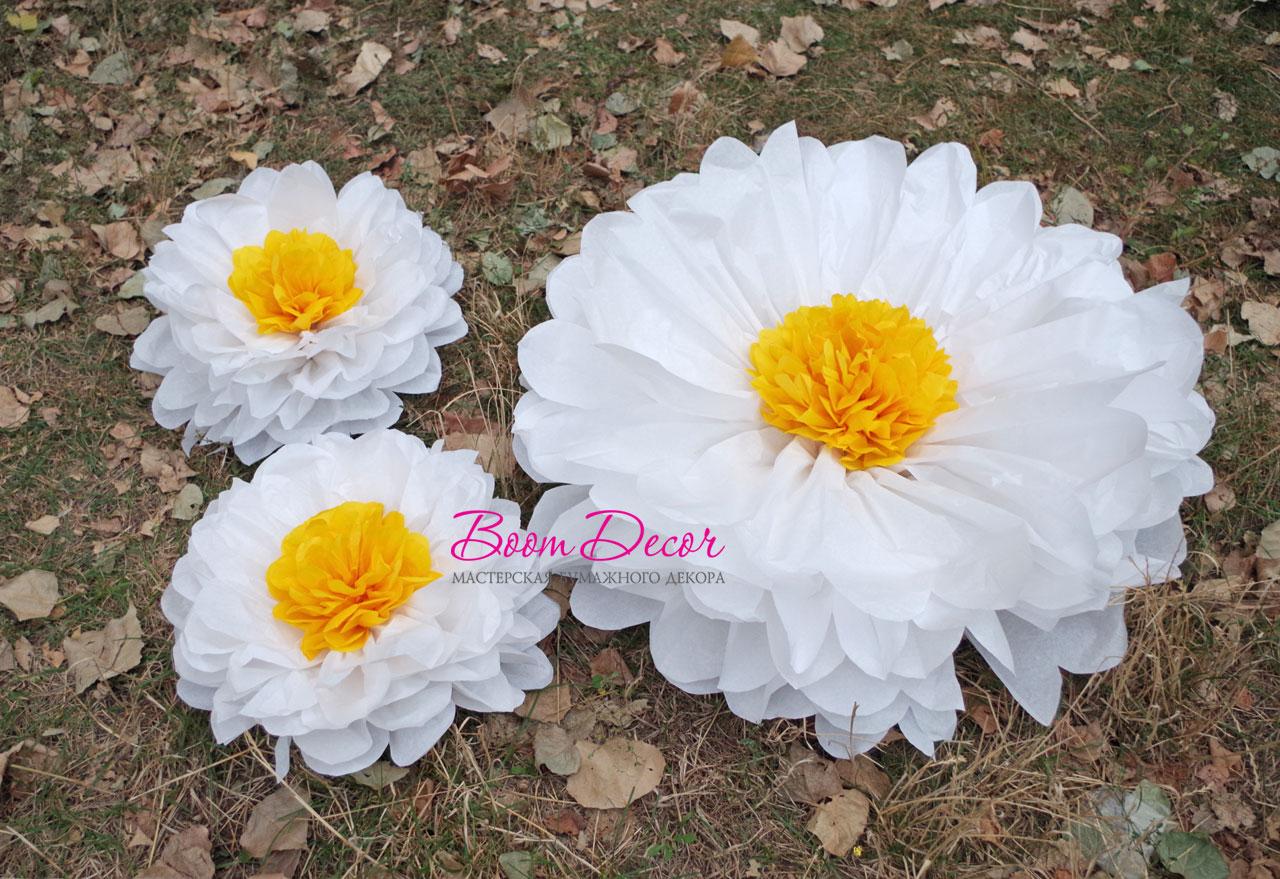 Цветы из тишью 041