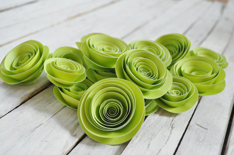 Спиральные цветы 024