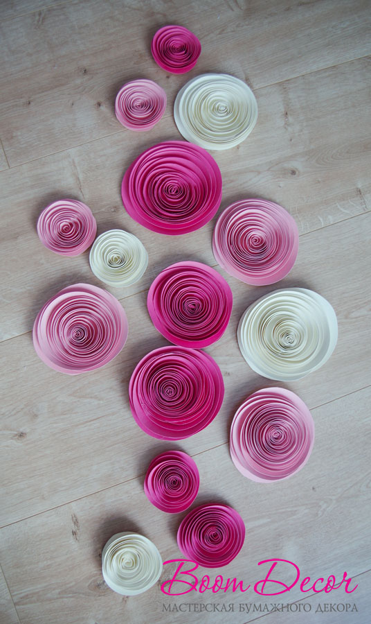 Спиральные цветы 052