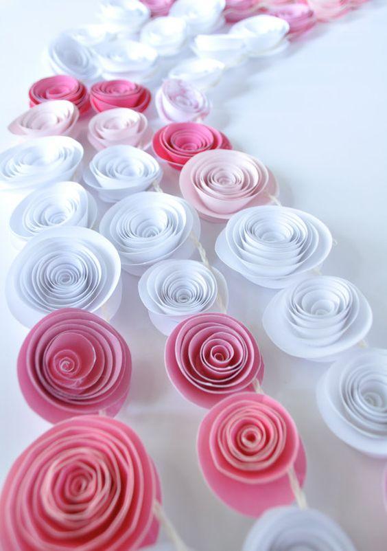 Спиральные цветы 046