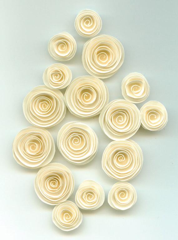 Спиральные цветы 017