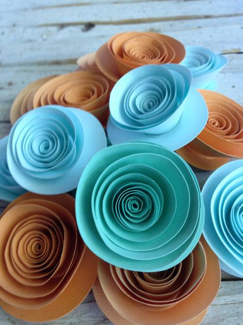 Спиральные цветы 029